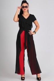Модель 8005 черный+красный Lans Style
