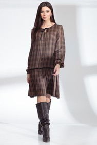 Модель 13900 шоколадно-коричневый Sandyna