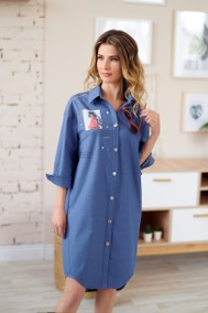 Модель 223 светло-синий джинс Marika