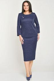Модель 22-518 синий меланж Elga