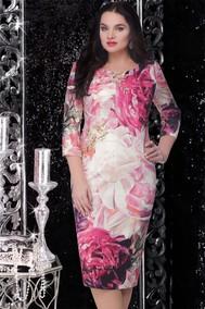 Модель 12590-1 розовые цветы LeNata