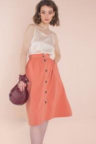 Модель 2153 оранжевые тона  Elletto LIFE