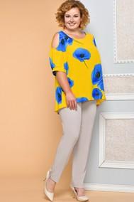 Модель 4510 желтый+голубой+бежевый Diomel