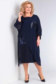 Модель 975 темно-синий Орхидея Люкс