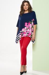 Модель 1248-2 темно-синий+красный Arita Style-Denissa