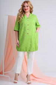 Модель 2945 ярко-зеленый, молочный Ivelta plus