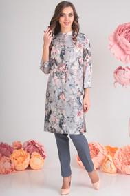 Модель 13396-1 светло-серый+розы Sandyna