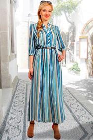 693-28 синие полоски МиА Мода