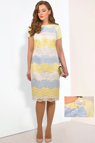 570 желто-голубой  Мишель стиль