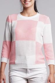 0046 розовый + белый Nat Max