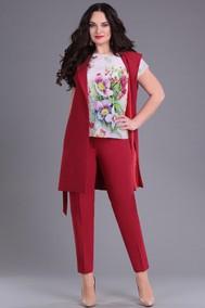 4064 красный Andrea Style