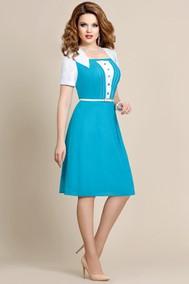 3665 голубой Mira Fashion
