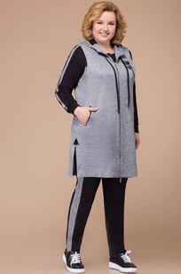 Модель 1212 серый+черный Svetlana Style