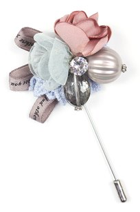 Модель 57039 голубой+розовый Fashion Jewelry