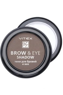 VITEX Тени для бровей и век BROW&EYE SHADOW, тон 12 Light brown
