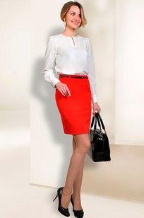 Модель 052 белый Talia fashion