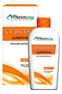 Pharmway СУЛЬСЕНА шампунь против перхоти 1%