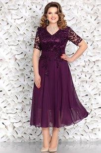 Модель 4653 фиолетовый Mira Fashion