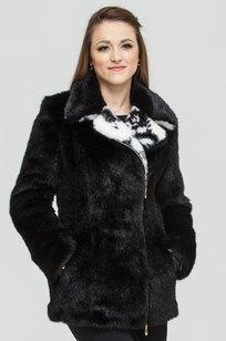 Модель Short-coat-1-02/1-10 черный ZIMA