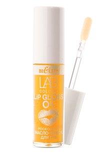 Роскошное масло-блеск для губ 03 Gold Argan LAB colour
