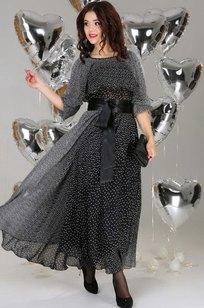 Модель 063 чёрный с белым Anastasia