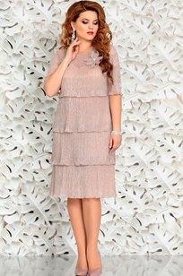 Модель 4389-8 бежевый Mira Fashion
