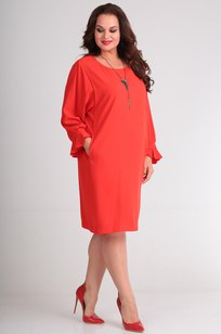Модель 484 красные тона SVT-fashion