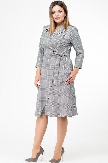 62fca4f5640f Платье Verita, серый (модель 1132) — Белорусский трикотаж в интернет ...