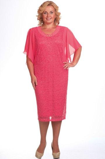 a3a3517228d4 Платье Pretty, розовые-тона (модель 148) — Белорусский трикотаж в ...