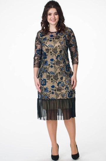 0fe303d77de9 Платье Melissena, золото (модель 853) — Белорусский трикотаж в ...