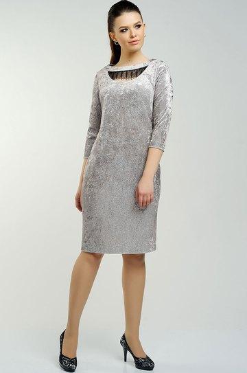99a47133f46fe7c Платье Danaida, серый (модель 1343) — Белорусский трикотаж в ...