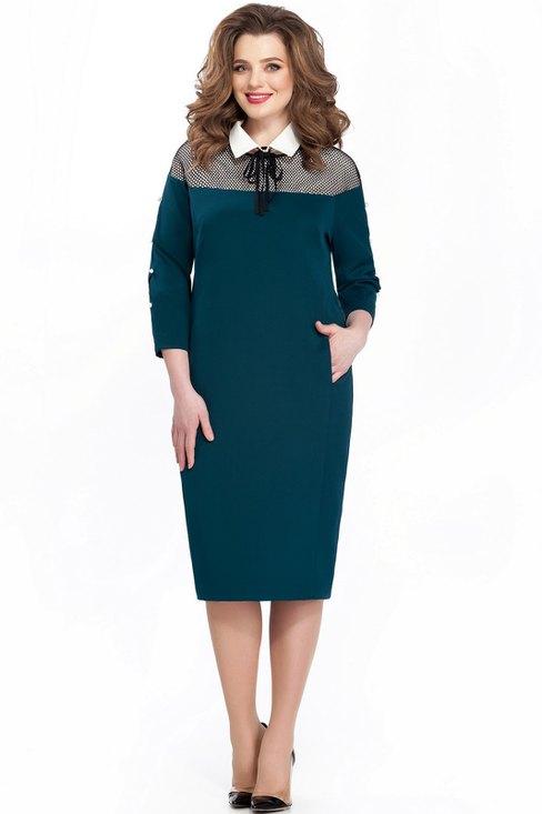 купить платье teza 2030 изумрудный