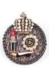 Модель 24440 (16876) серый-золото-белый Fashion Jewelry